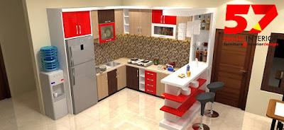 jasa pembuatan kitchen set murah di tulungagung