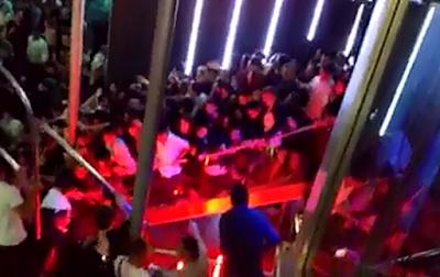 Se Colapsa una Escalera en un Centro Noctruno