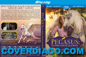 Pegasus: Pony With A Broken Wing - BLURAY