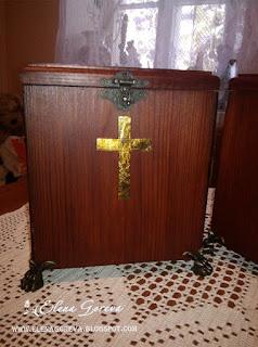 Ящик для пожертвований, ручная работа