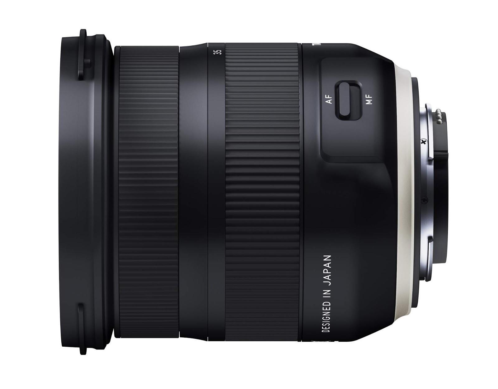 Tamron 17-35mm f/2.8-4 Di OSD (A037), вид сбоку