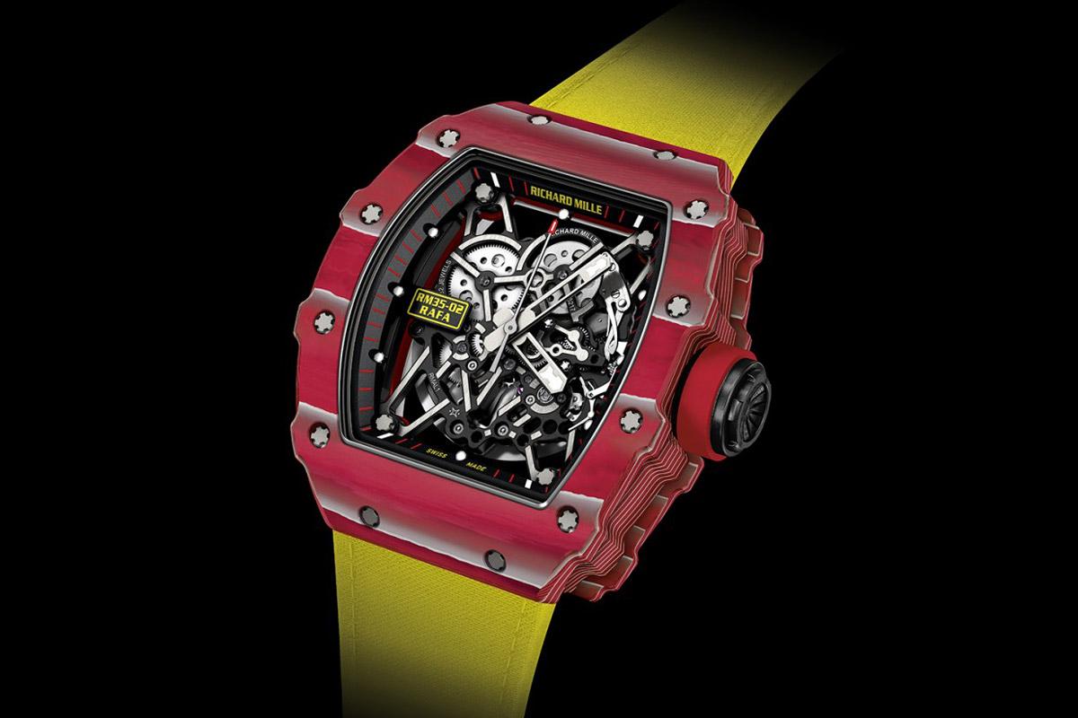 Richard Mille - RM 35-02 Rafael Nadal Automatic Quartz-TPT ...