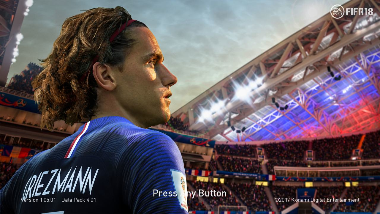 PES 2018 Griezmann WC 2018 Start Screen by ABW