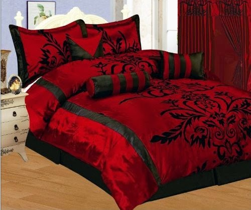 Bedroom Decor Ideas and Designs: Top Ten Gothic Bedding ...