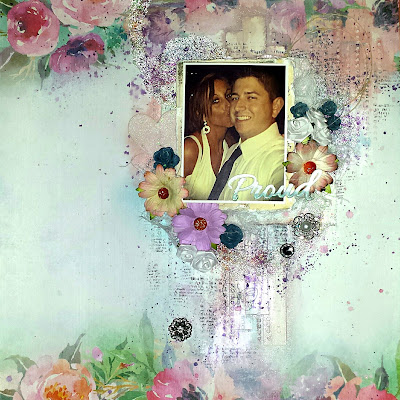 scrapbook layout video tutorial mixed media 13@rts 13arts August 2016