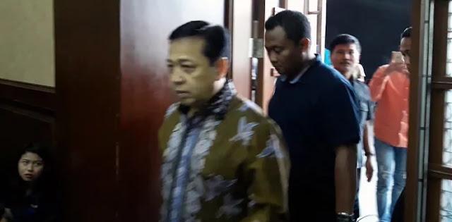 KPK Sita Aset Keuangan Setya Novanto Sebesar Rp 1 Miliar Lebih