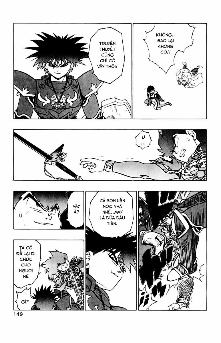 Dragon Quest: Emblem of Roto chap 37 trang 9