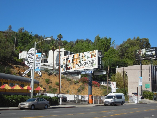 Transparent season 1 billboard Sunset Strip