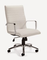 Ribbed Back Office Chair