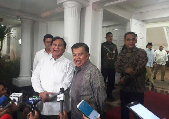 Pembelaan JK Menetralisir Pandangan Negatif terhadap Prabowo