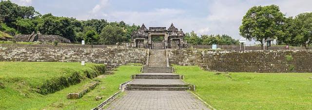 Landscape Keraton Ratu Boko