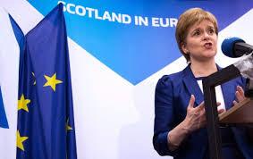 Scottish First Minister Seeks Second Referendum for Scottish Independence