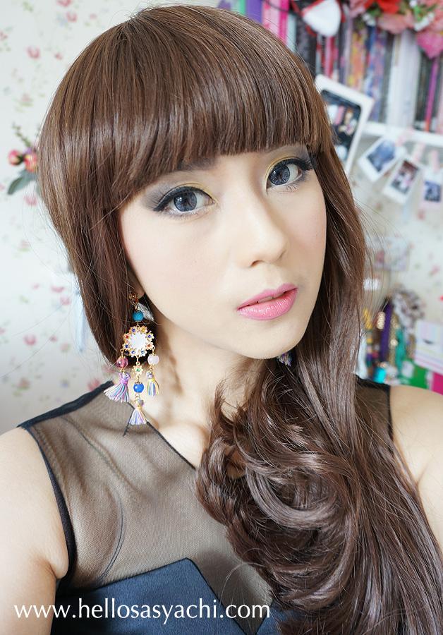 Sasyachi Beauty Diary: [TOKYO BEAUTY TUTORIAL] DOKI-DOKI