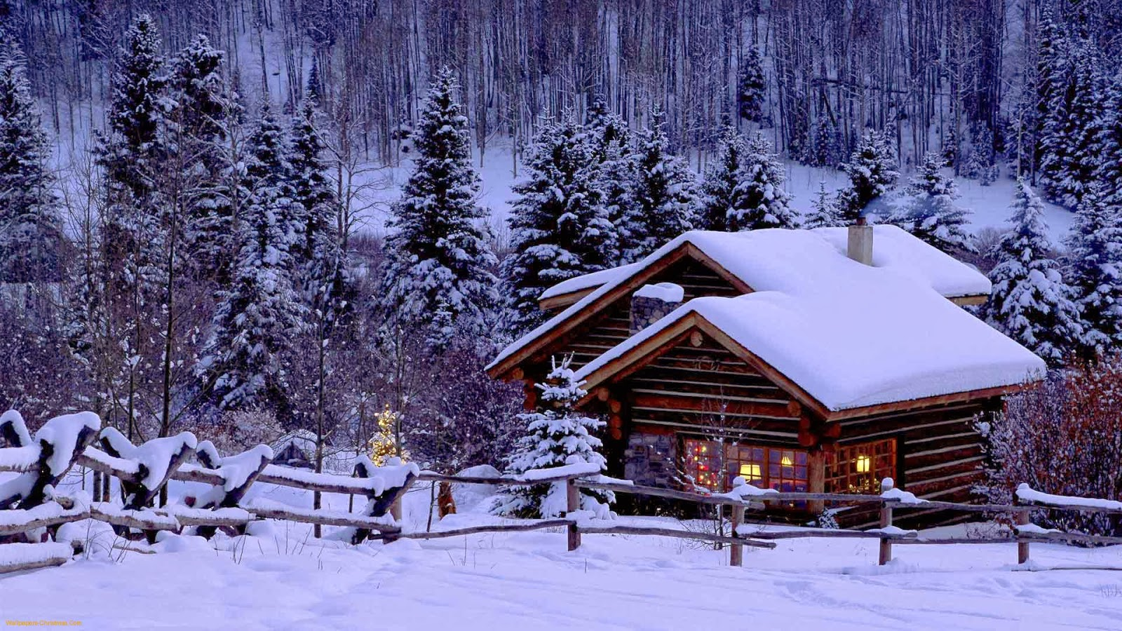 Xmas Mountain Background Best Wallpapers1