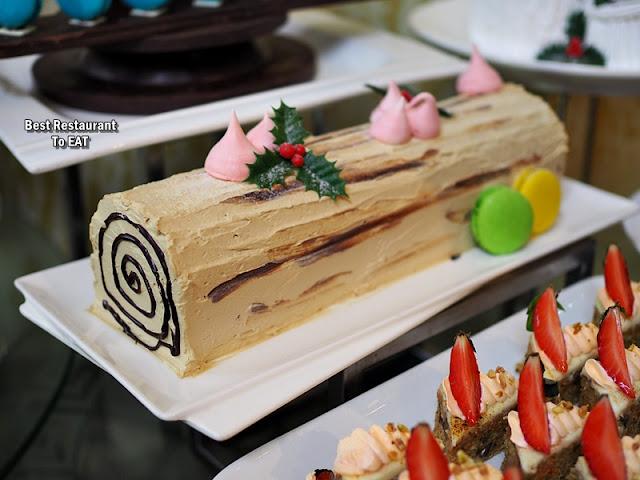 SHAH ALAM NEW YEAR 2020 HI TEA Menu - Christmas Cake