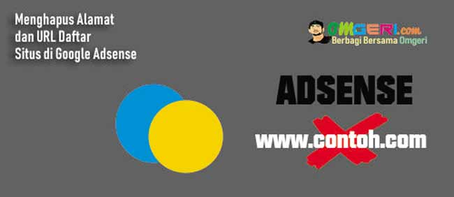Menghapus Alamat dan URL Daftar Situs di Google Adsense