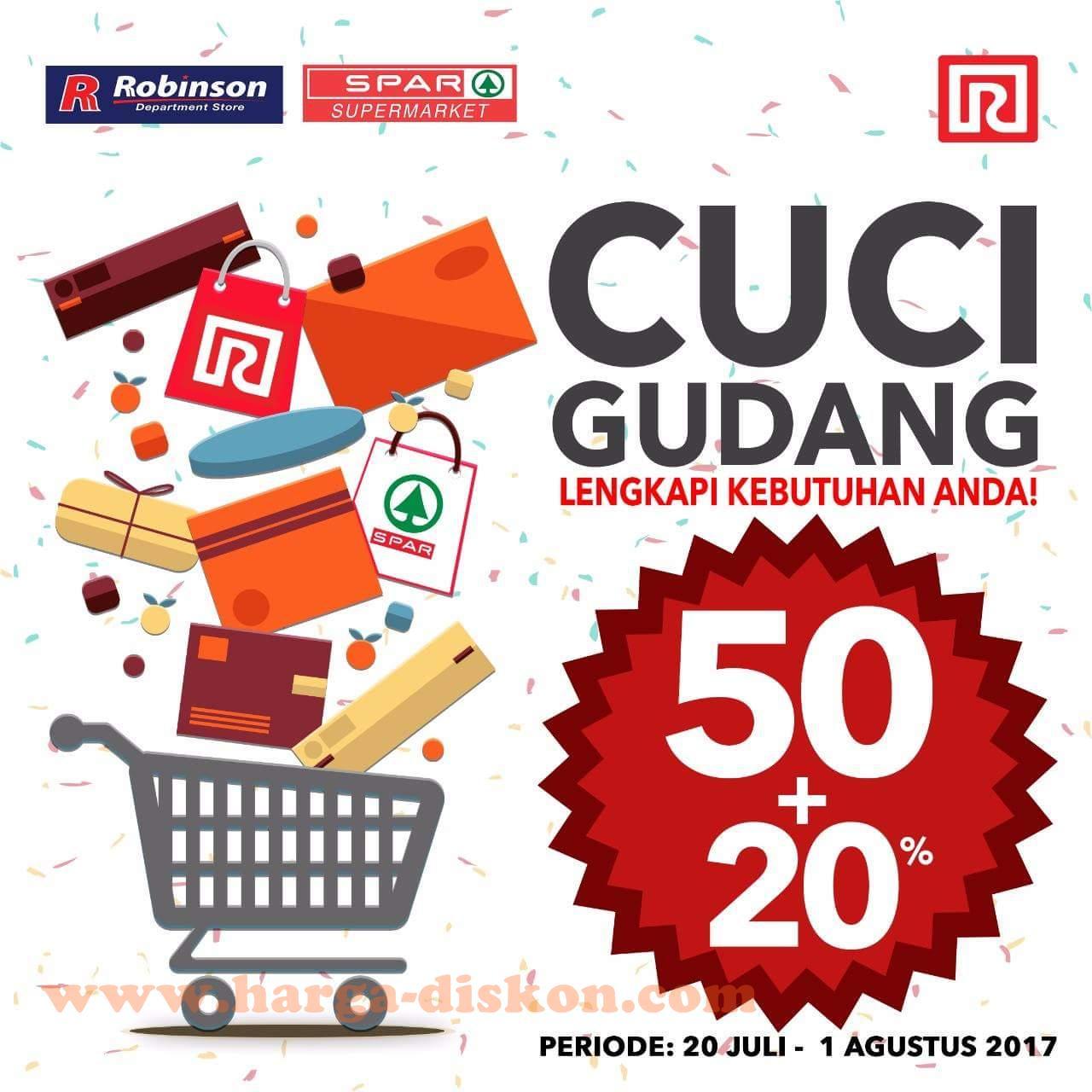 Promo Ramayana Robinson Dan Spar Cuci Gudang Periode 20 Juli 01