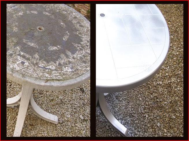 d coplus nettoyer le mobilier de jardin en plastique. Black Bedroom Furniture Sets. Home Design Ideas