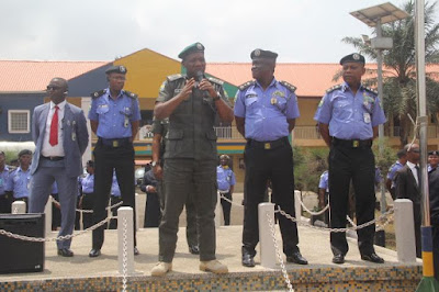 IGP VISITS ZONE 2 COMMAND AND POLICE COLLEGE IKEJA