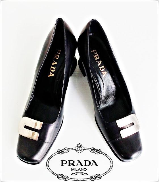 Cod 100, PRADA Shoes - Autentici, Piele naturală!