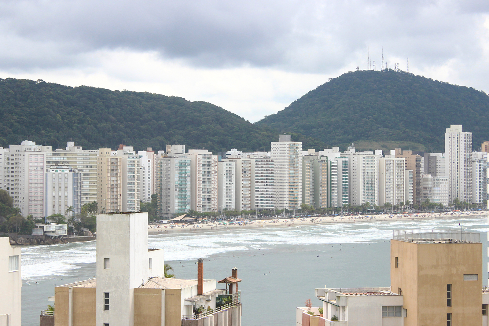 vista guarujá prédios