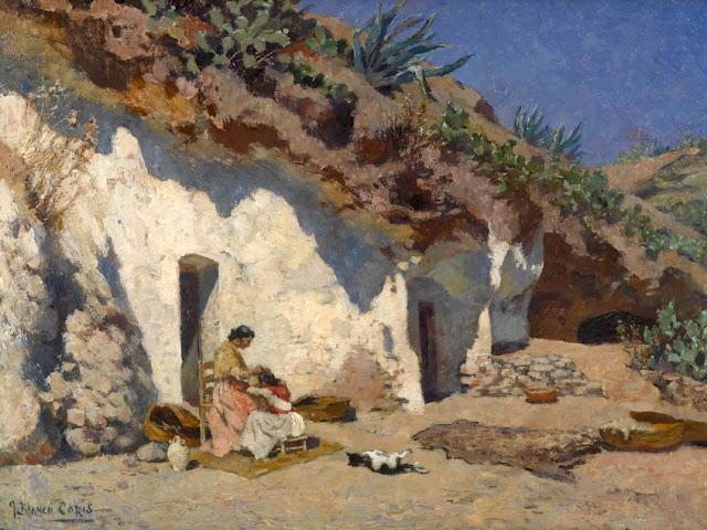 José Blanco Coris, Paisajistas españoles, Paisajes de Blanco Coris, Pintor español, Blanco Coris, Pintores de Málaga, Pintor Blanco Coris