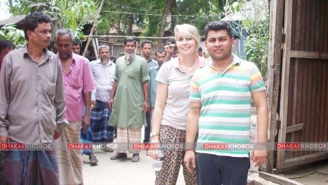 ফেসবুকে প্রেম, ব্রাজিল থেকে তরুণী রাজবাড়ীতে