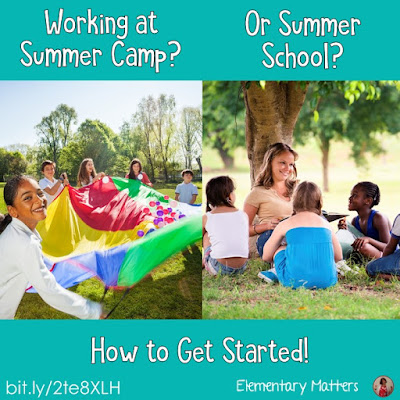 Whether you're a camp counselor, summer day care leader, or summer school teacher, here are some fun ideas to get you started this summer!