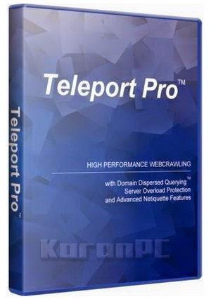 Teleport Pro 1.70 + Key