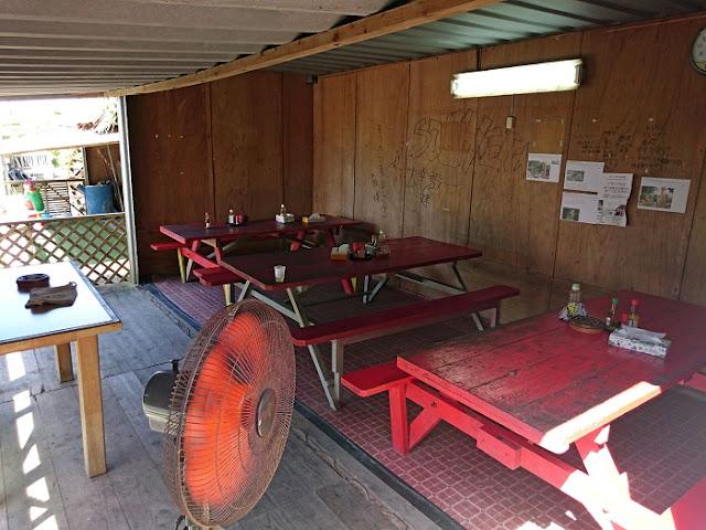 山田水車屋のテラス席の写真