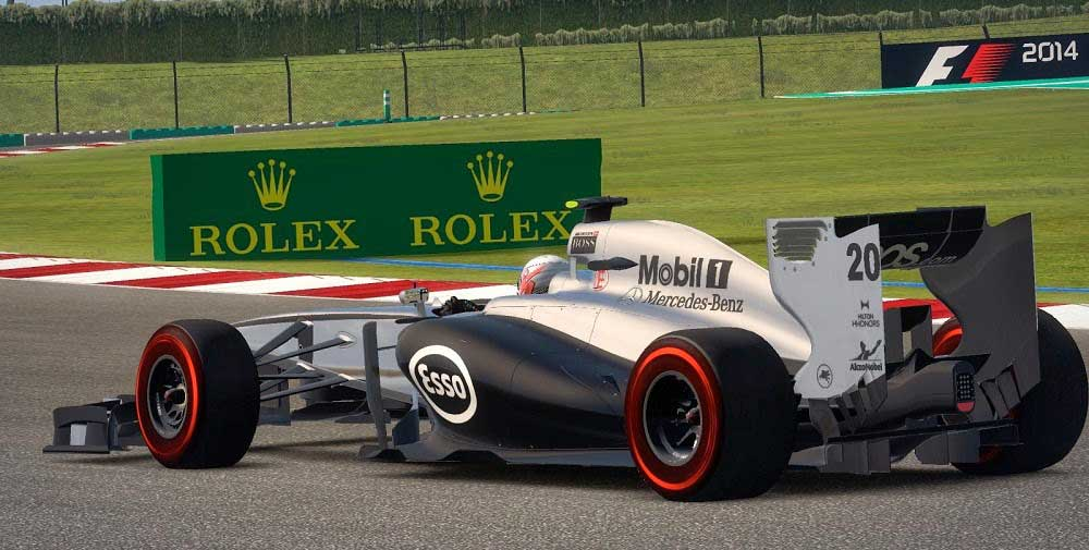 Mclaren Mercedes MP4-29 - Australian and Malaysian Grand Prix Livery