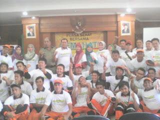 Cek Kesehatan Gratis kpd Warga Kel. Tebet Barat bersama GEMAHATI & SUSU HAJI SEHAT, 26 Mei 2017 Jakarta Selatan