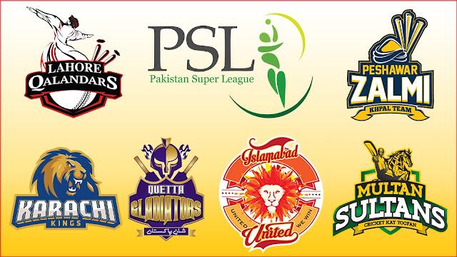 Pakistan Super League 2021 Team Captain and Players   PSL 2021 Teams Squad