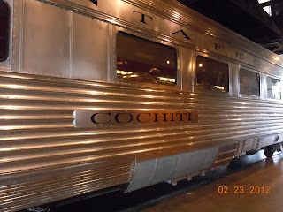 cochiti railroad dining car