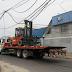 Camión con Montacargas Dejan sin Luz a toda una Población
