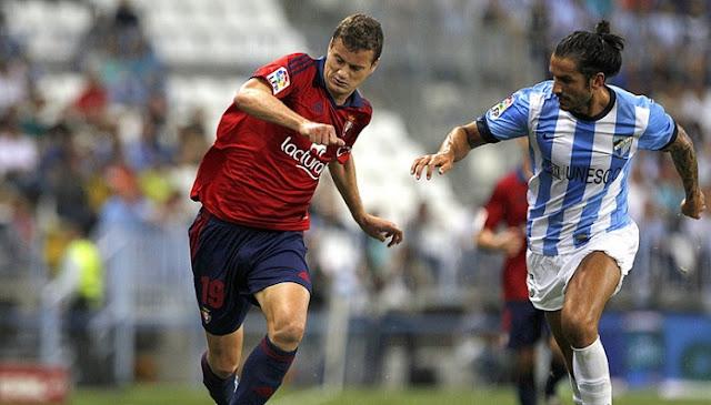 Malaga vs Osasuna en vivo