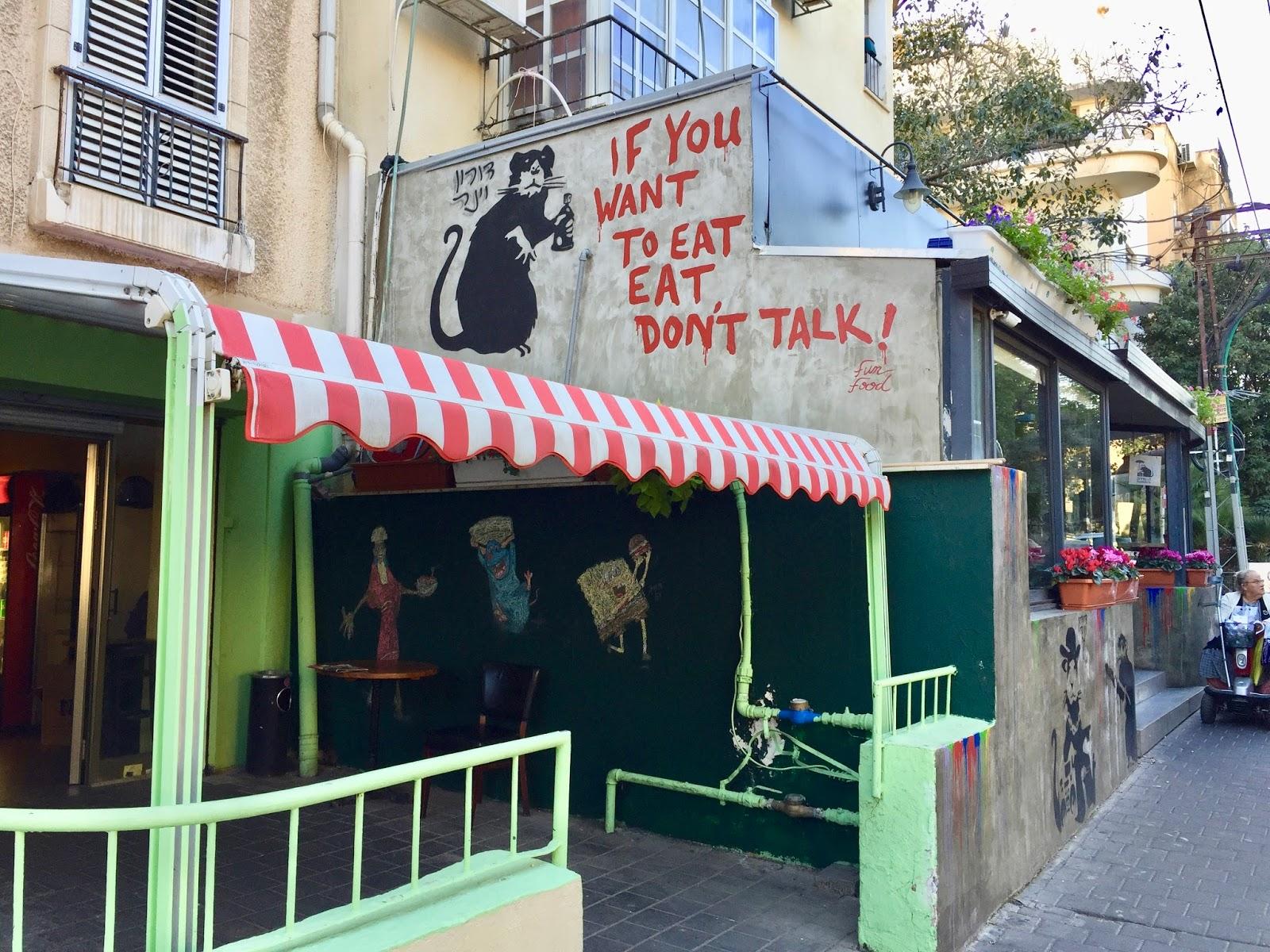 Street art v Tel avivu