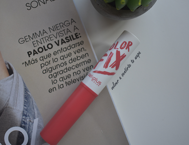 Labial Color Fix Tono nº7 de Mercadona