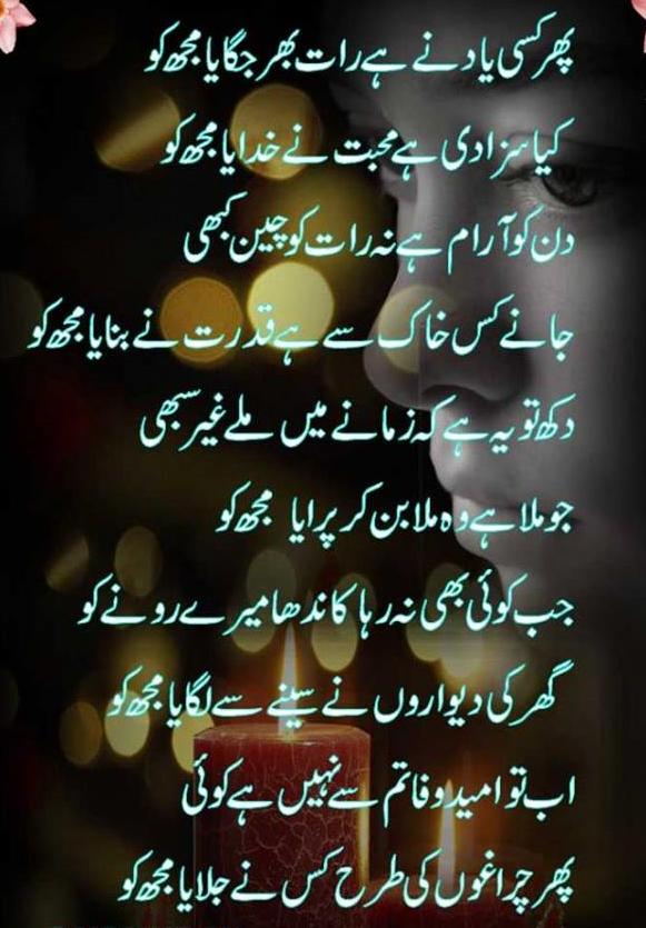 Islamic Quotes And Wallpapers Poetry Romantic Amp Lovely Urdu Shayari Ghazals Baby