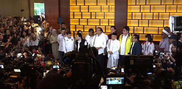 Jokowi Minta Pendukung Sabar Tunggu Hasil Resmi KPU