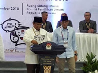 Prabowo: Mari Kita Laksanakan Pemilu yang Damai