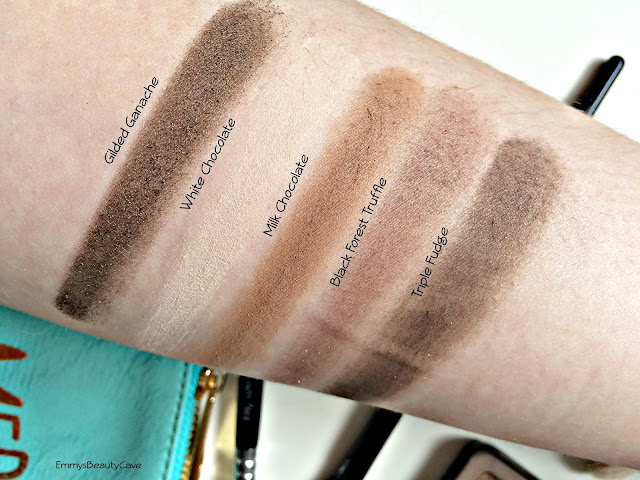 Too Faced Chocolate Bar Palette Swatches