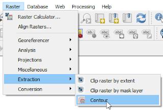 QGIS Contour tool
