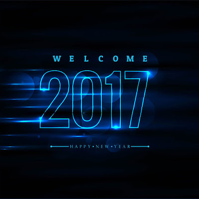 Happy New Year 2017 Wallpaper PNG