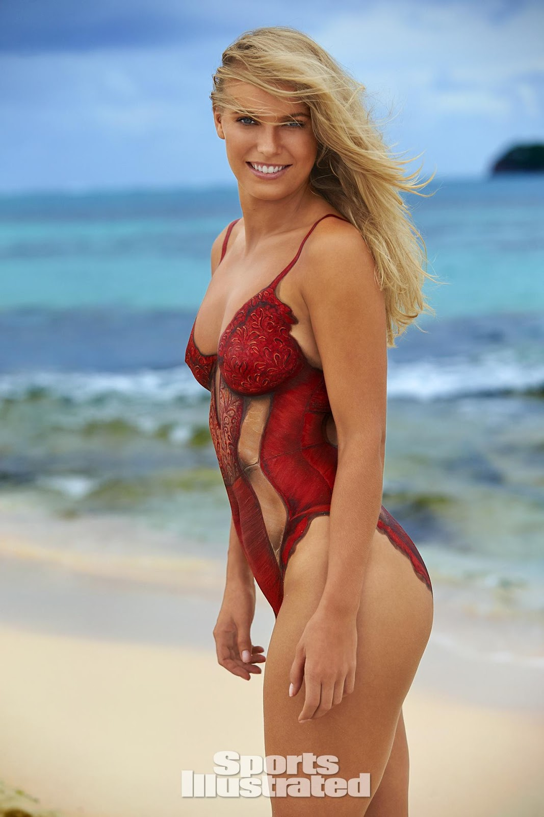 Sports illustrated swimsuit body paint