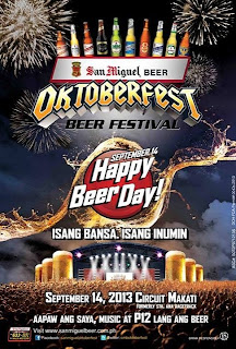 San Miguel Oktoberfest 2013 Schedule and Venue