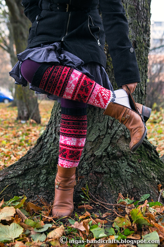 Muhuainelised sukad / Muhu Stockings