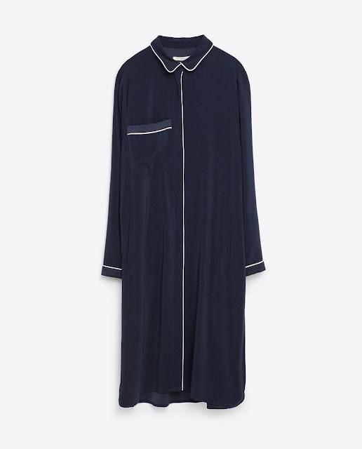 Zara Pyjama Look Shirt