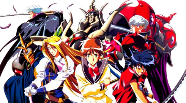 Tenkuu no Escaflowne Daftar Anime Isekai Terbaik ( Tokoh Utama Masuk Dunia Lain )