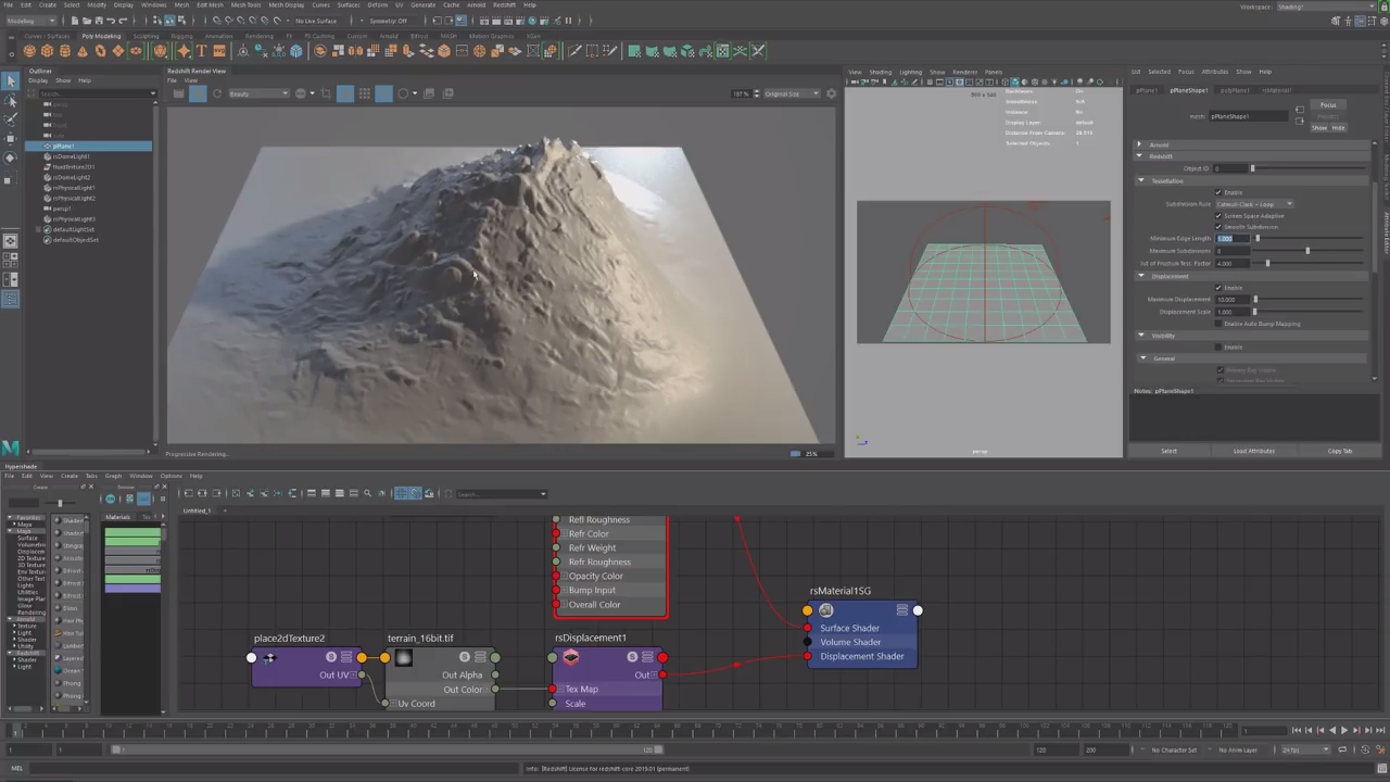 Working With Displacement in Redshift for Maya | CG TUTORIAL